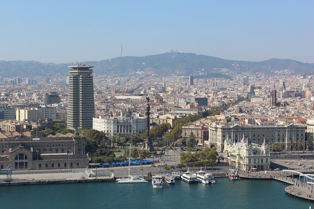 la Rambla en Barcelona 3